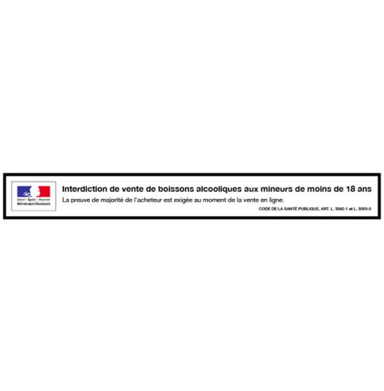 Verre de Vin Rosé Bio - Domaine de la Marseillaise - 12,5cl